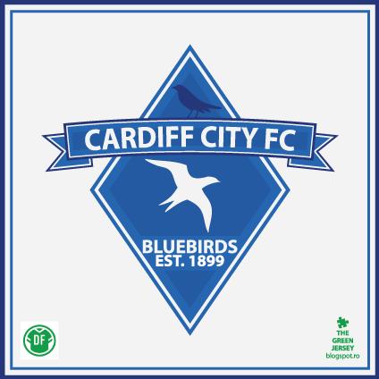 Cardiff City FC - Diamond -