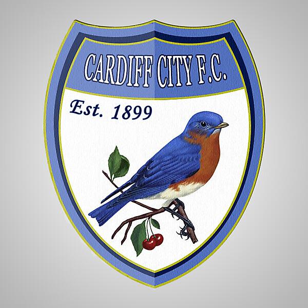 Cardiff City FC Crest