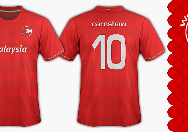 Cardiff City FC - Welsh Devils  Home kit