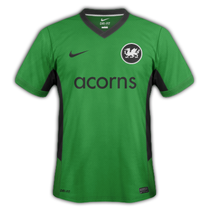 Welsh Dragons fantasy kits with Nike