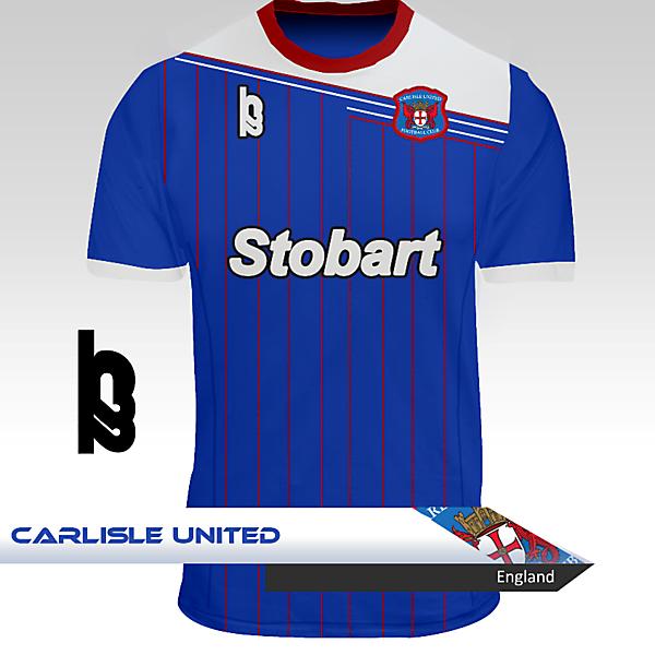 Carlisle United Home Kit - H22