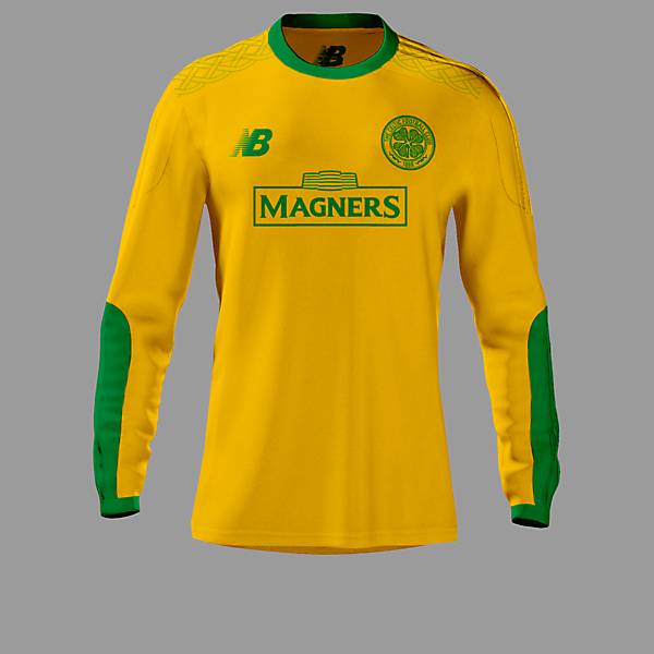Celtic 15-16 GoalKeeper Away Kit / New Balance