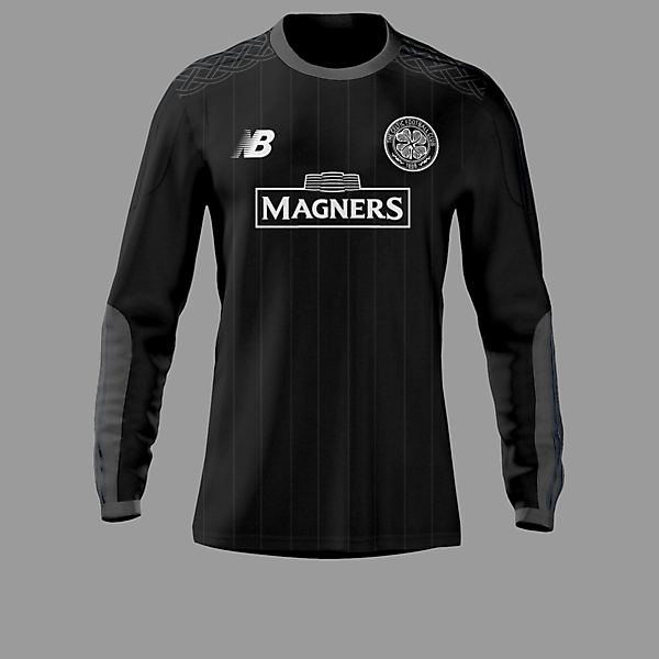 Celtic 15-16 GoalKeeper Home Kit / New Balance