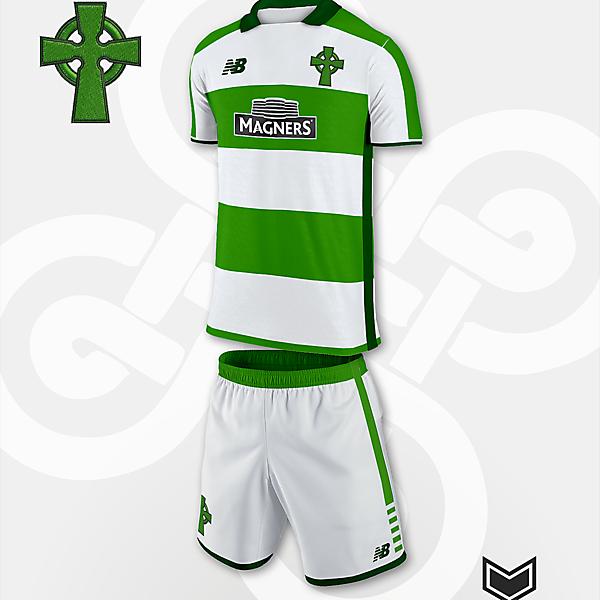 Celtic Glasgow - NB fantasy kit