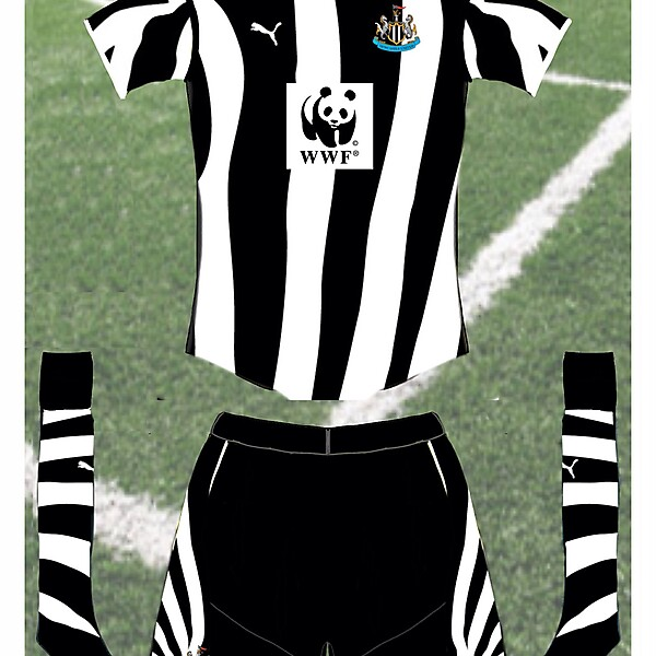Newcastle Utd charity special