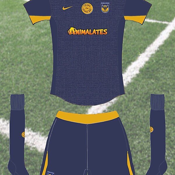 Oxford United Jeans For Genes kit