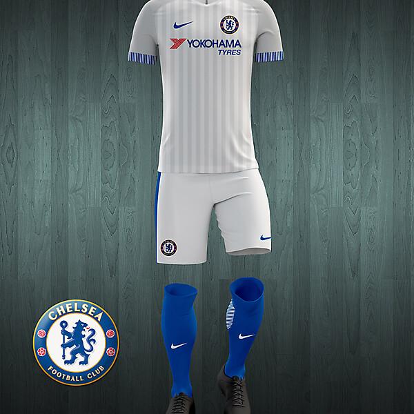 Chelsea 2016-17 away kit concept.