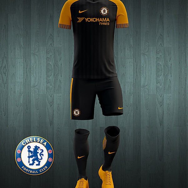 Chelsea 2016-17 third kit concept.