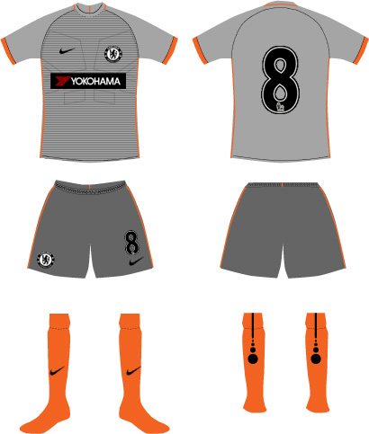 Chelsea 3rd Kit (Cup)