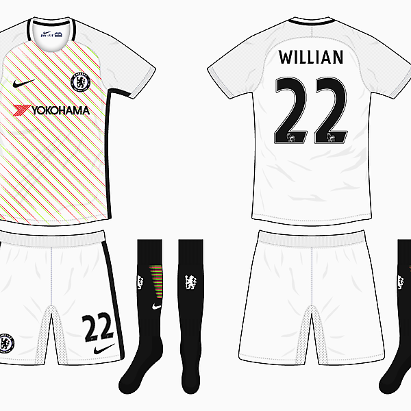 Chelsea Away Kit - Nike