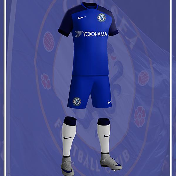 Chelsea FC 2017/18 Nike Home Kit