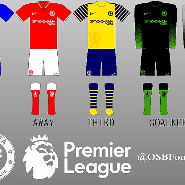 Chelsea Nike Kits