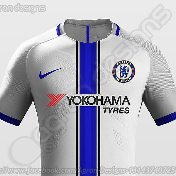 Nike Chelsea Fc Away Kit Concept
