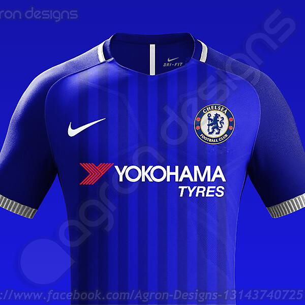 Nike Chelsea Fc Home Kit Concept