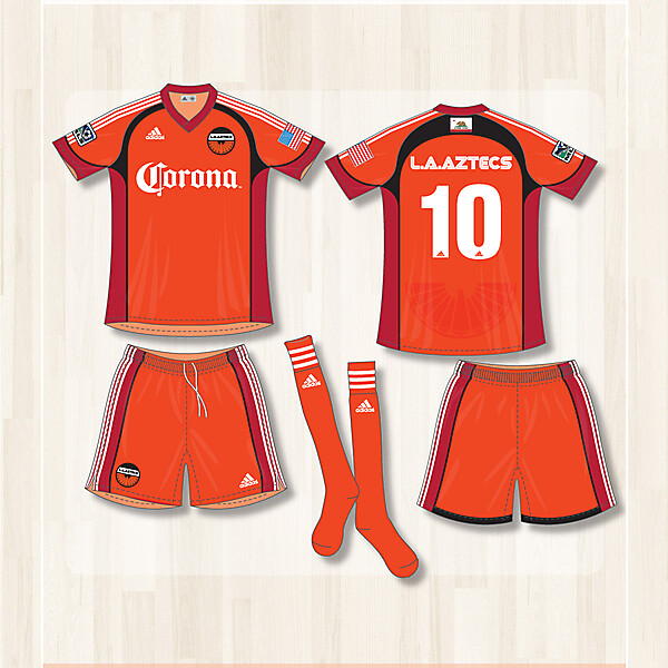 L.A. Aztecs Home kit 2014-2015