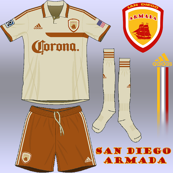 san Diego Armada - away