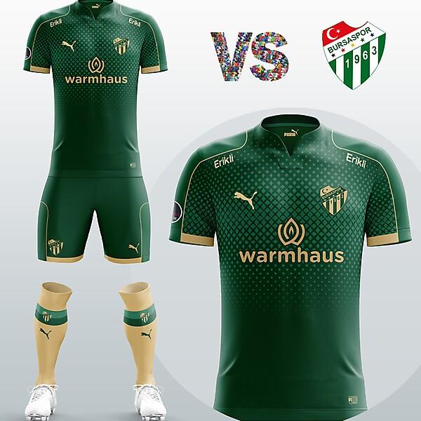 Bursaspor Away kit
