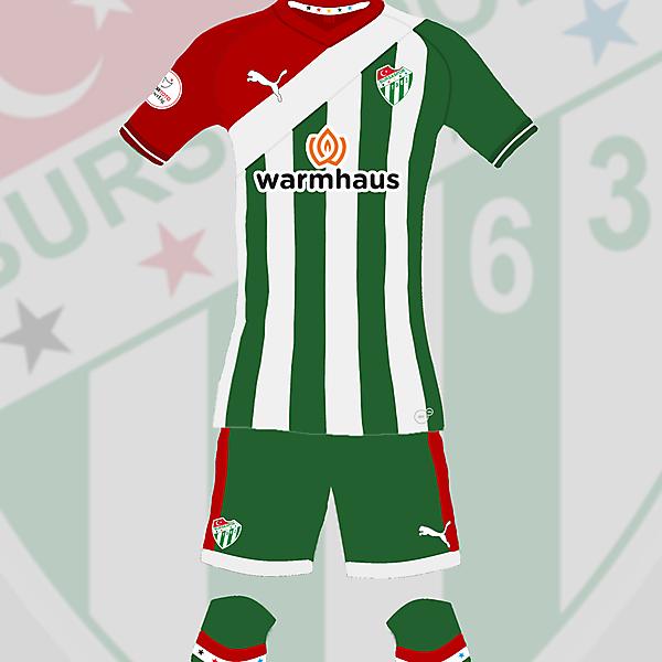 Bursaspor Home Kit