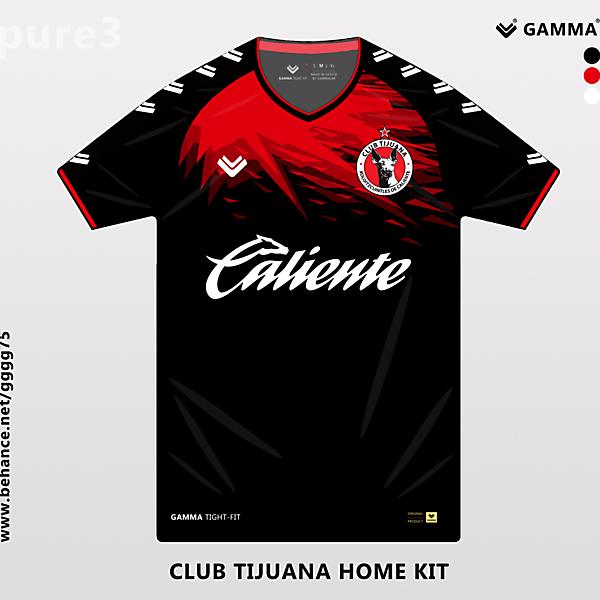 club tijuana home kit