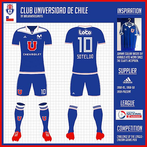 Club Universidad de Chile Home Kit