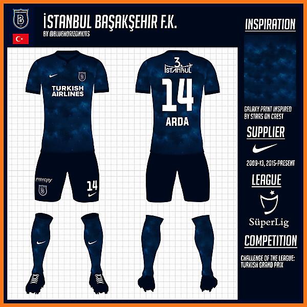 İstanbul Başakşehir F.K. Away Kit