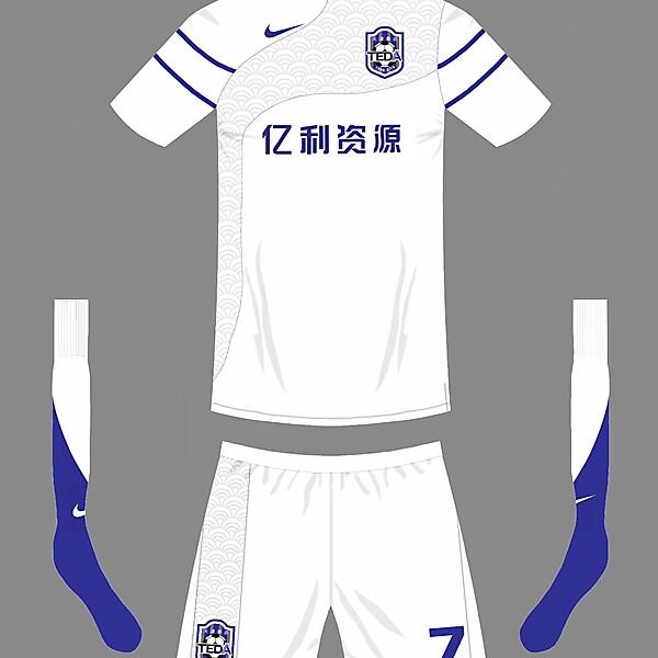 Tianjin TEDA F.C Home kit