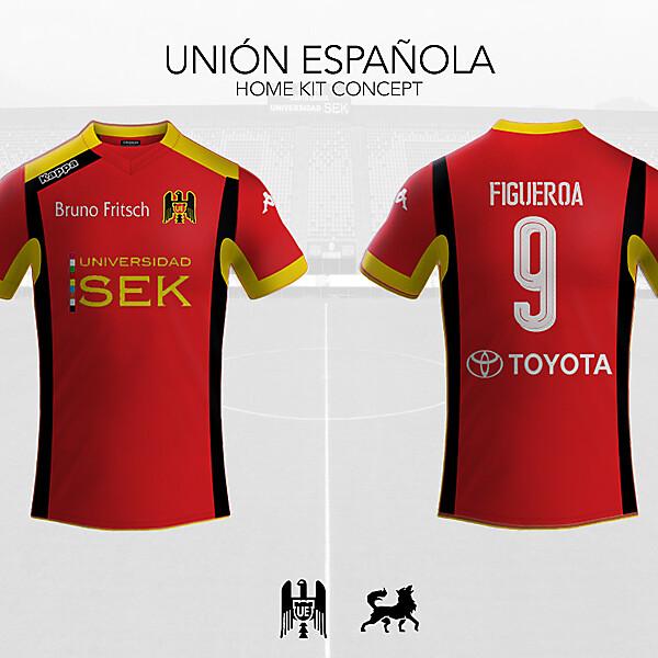 Unión Española Home Shirt   Futwolf