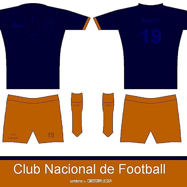 Club Nacional de Football alternative kit