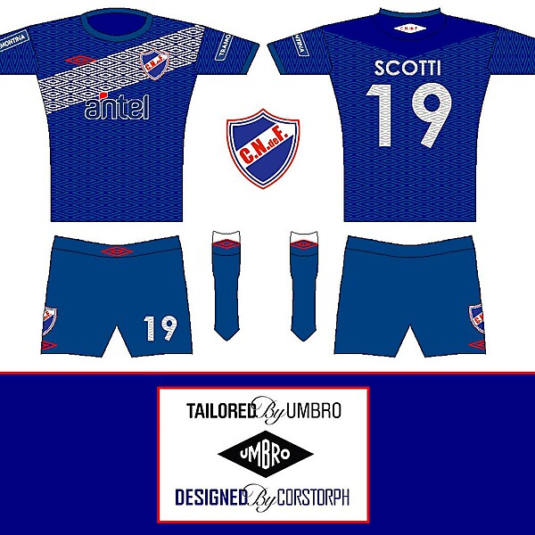 Club Nacional de Football (Kits Competition) (closed)