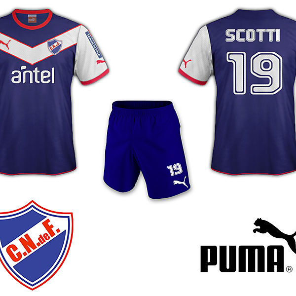 Club Nacional de Football Away Kit Puma
