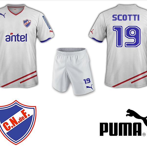 Club Nacional de Football Home Kit Puma
