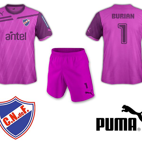 Club Nacional de Football Goalkeeper Kit Puma