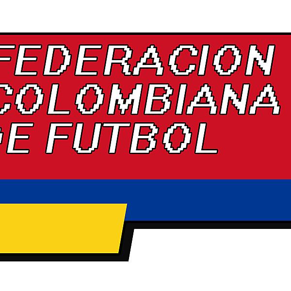 8-bit Colombia Crest