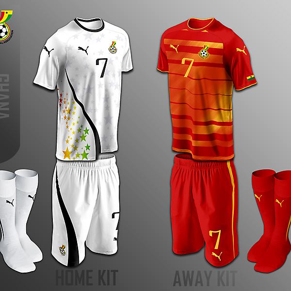 Ghana fantasy kits