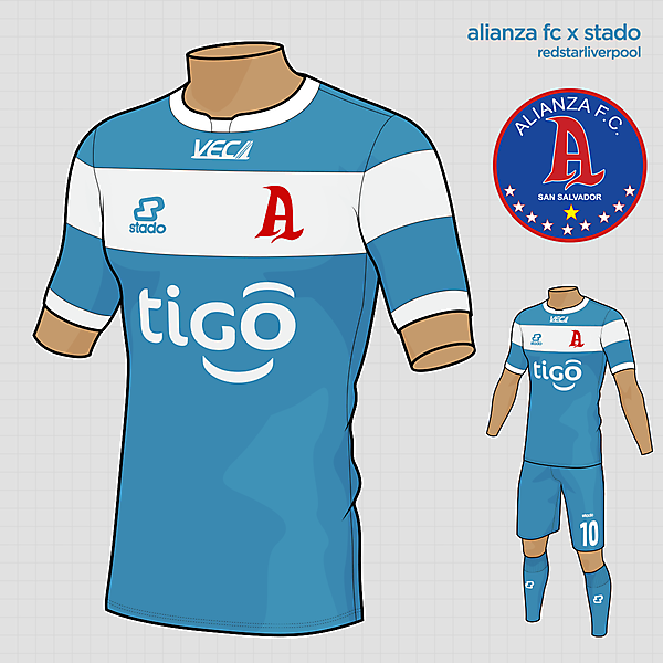 Alianza FC Away Kit