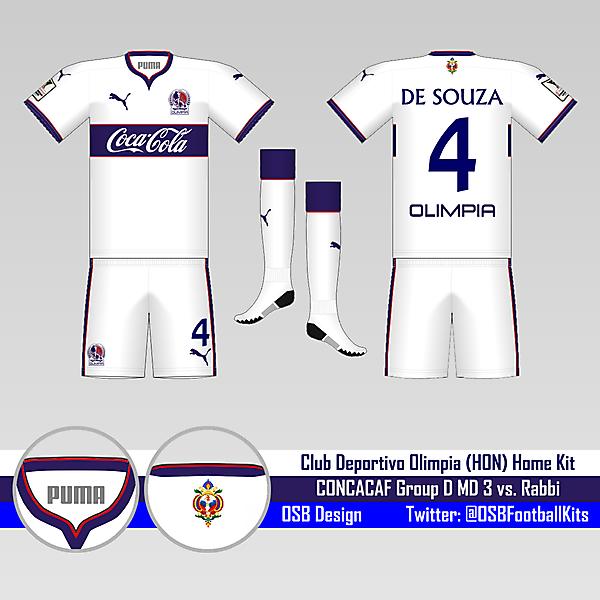 CD Olimpia Home Kit - Group D