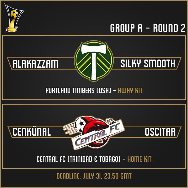Group A - Week 2 Matches