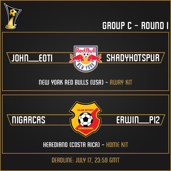 Group C - Round 1 Matches