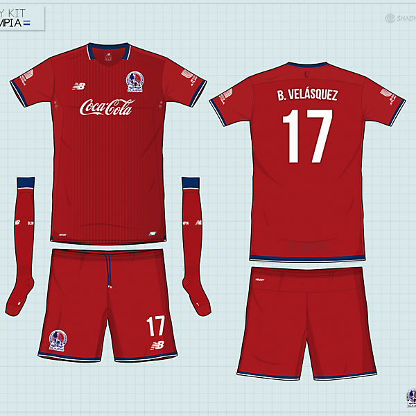 Olimpia | away kit