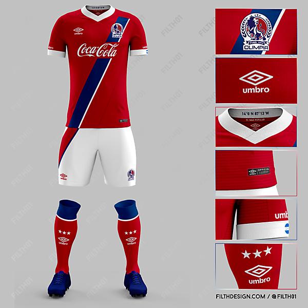 Olimpia x Umbro | Away Kit