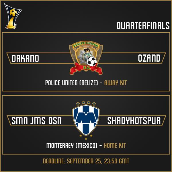 Quarterfinals Matches (Part 1)
