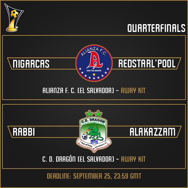 Quarterfinals Matches (Part 2)