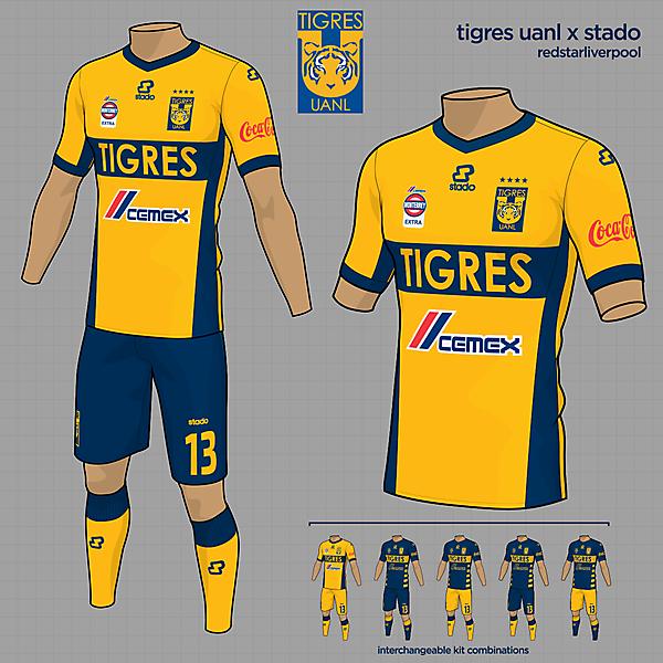 Tigres UANL Home Kit
