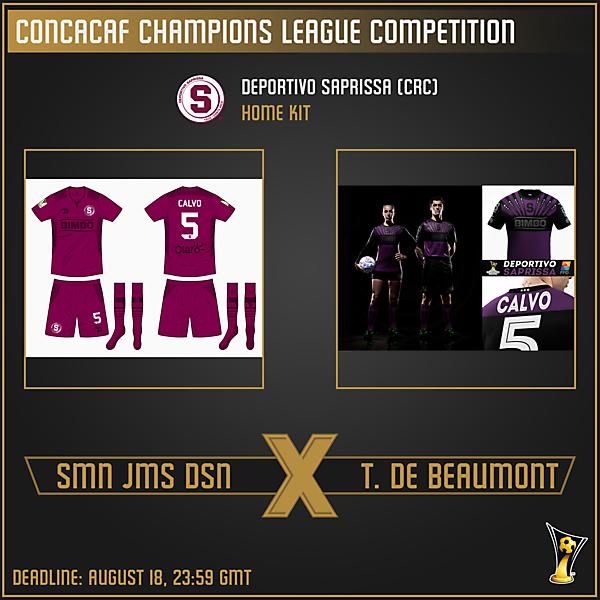 [VOTING] Group B  - Week 3 - Smn Jms Dsn vs. Thomas de Beaumont
