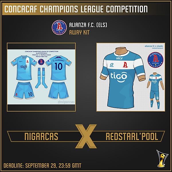 [VOTING] Quarterfinals - NiGarCas v. RedStarLiverpool