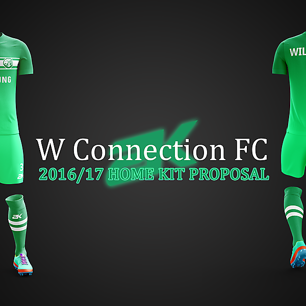 W Connection FC - Home kit