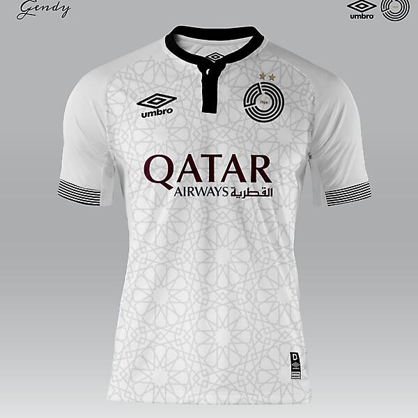 Al Sadd SC x Umbro Home Kit Concept