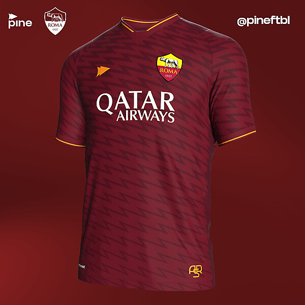 AS Roma Home @pineftbl