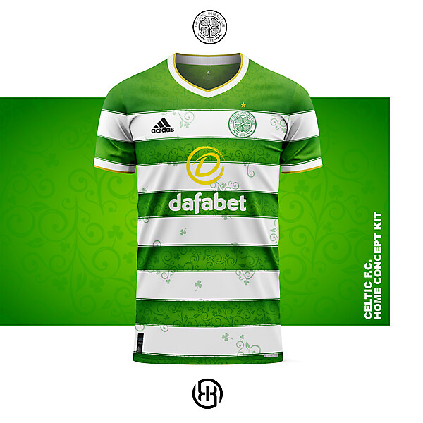 Celtic F.C. | Home kit concept