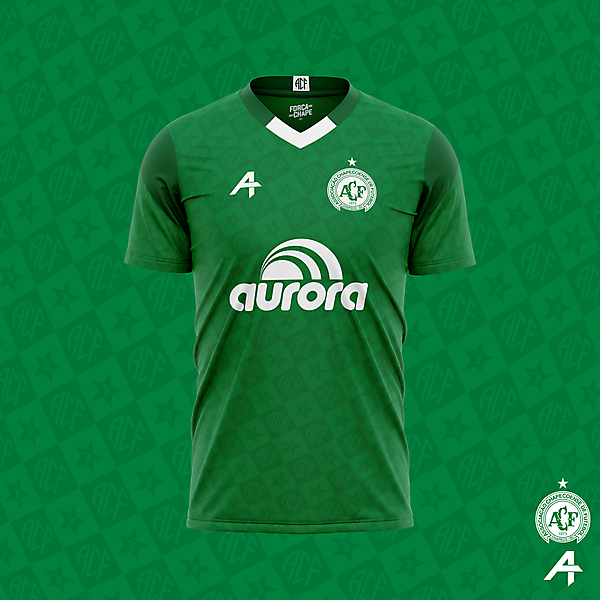 Chapecoense home kit concept